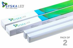 Cool daylight T5 Syska 4 Feet LED Batten Tube Light Fitting 18 Watt, 16 W - 20 W, Model Name/Number: Ssk-sq-1801-mg-6500k