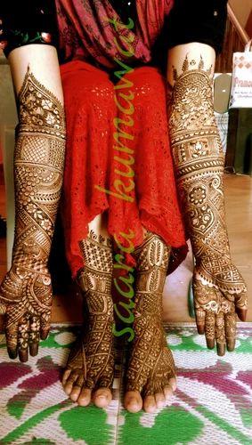 arabic bharwa mehndi design