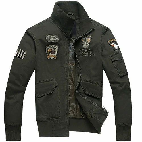 46a25f76b6c4 Men's Army Jacket, सैन्य जैकेट - Kumar Sons, Ludhiana   ID ...