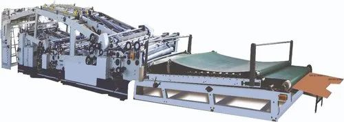 Robus India ZL Series Automatic Three in One Flute Laminating Machine