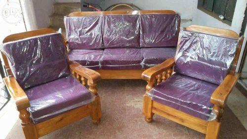 Teak Wood Sofa Set Manufacturer From Pune