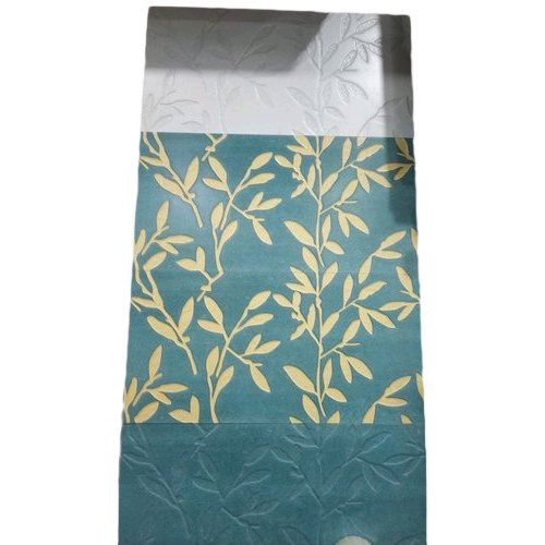 Gloss Ceramic Tropical Leaves Wall Tile, Thickness: 10 - 12 mm