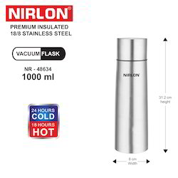 Nirlon Stainless Steel Vacuum Flask 1000 ml