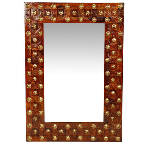 Rectangle Wooden Frame Mirror Size Dimension 2 X 3 Feet