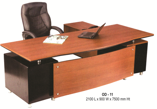 Wooden Rectangular Modular Office Desk