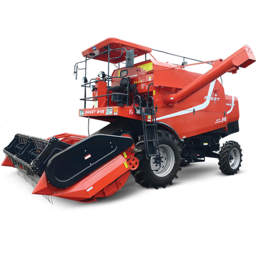 Preet 849, 11 feet, 76 hp Combine Harvester, 4 Straw Walker