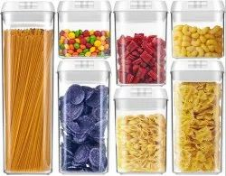 EK Storage Container, Full Air Tight & Leakage Proof Containers, Square Container, Pack of 1(1.2L)