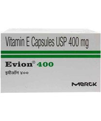 Evion Capsule, Packing Size: 1 X 10, Packaging Size: 10's