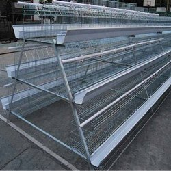 Galvanized Poultry Cage