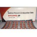 Diclofenac Potassium And Serratiopeptidase Tablets