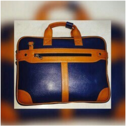 PBF Brown Corporate Leather Bags