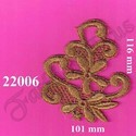 Designer Fancy Zari Patch