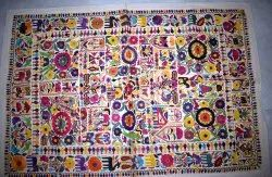 Handmade Bohemian Patchwork Wall Hanging Home Decor