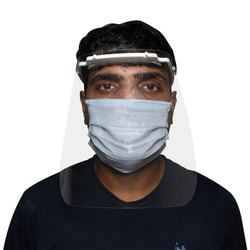 Oriley Orfsn07 175 Micron Disposable Face Shield Full Face Visor With Eye & Head Protection (1 Pc)