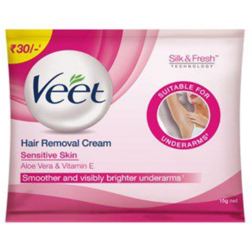 Veet Hair Removal Cream Underarm Pack At Rs 30 Pouch Veet Hair