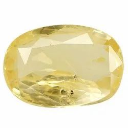 Oval - Cut Eye Clean Natural Ceylon Yellow Sapphire