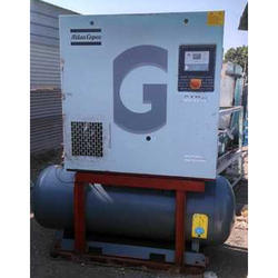 5 HP To 150 Hp Atlas Copco Air Compressor
