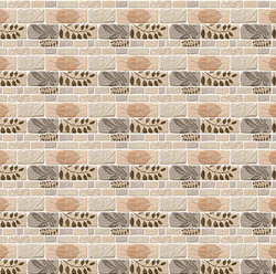 Gloss Ceramic Exterior Elevation 3D Wall Tiles, Thickness: 8 - 10 mm, Size: Large
