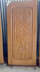Decorative Teak Door