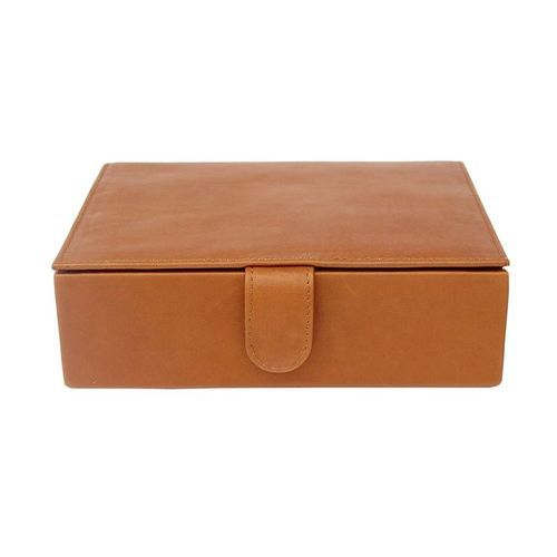 256e3d4b5799d Vestta Black And Brown Leather Gift Box