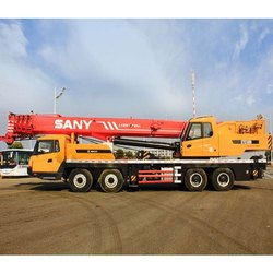 XCMG QY50K Mobile Crane, Platform Height: 80-100 feet