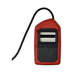 Finger Print Scanner Red & Black