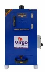 VIRGO Sanitary Napkin Incinerator MSMAX500 For Office Use
