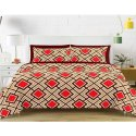 Sig. Magnum Printed Designer Double Bed Sheet