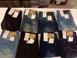Denim Faded Mens Branded Jeans