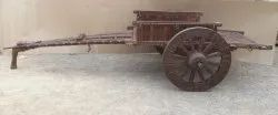 Brown Wooden wheel, For Cart, Size: 36 Inch Dia
