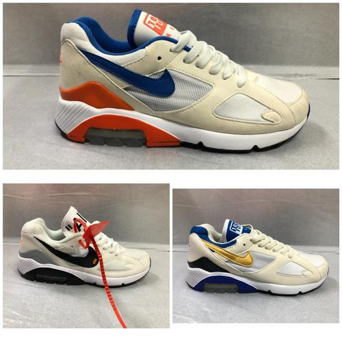 Air Max 180 Sports Running Shoes, Size: 10 and 9