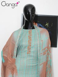 Printed Salwar Kameez by Ganga Fashion
