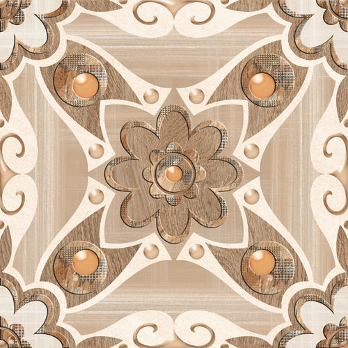 Ceramic Digital Floor Tiles Size 396mmx396mm 16x16 Inch Maruti