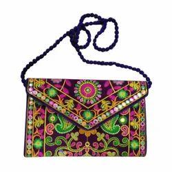 Embroidery Ladies Handicraft Fancy Clutch Bag