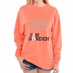 Orange Full Sleeves T-Shirt