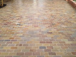 Golden Sandstone Cobbles