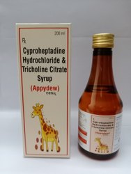 Cypropheptsdine 2mg Tricholine Citrate0.275mg Sorbitol 3.575g