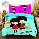 Kids World Bed Sheet Rosepetal