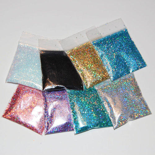 Pouch Of Midas Holographic Glitter Powder For Craft / Nail Art/ Body Art/ Resin Molding
