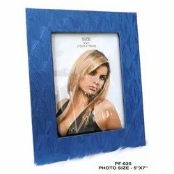 Blue Wooden Photo Frame 5-7