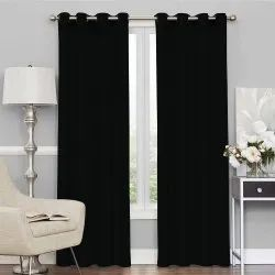 Story@Home Solids Eyelet Blackout Curtain For Door