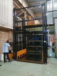 Electric Operated Hydraulic Goods Lift