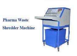 Pharma Factory Shredder Machine