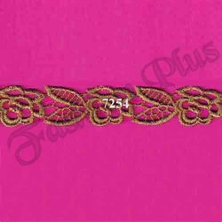 Beautiful And Elegant Antic Gold Zari Lace