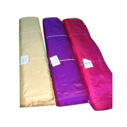Plain Silk Fabric, Packaging Type: Covers With Cardboard Box Wrapping
