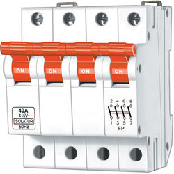 4 Pole Isolator Switching Device