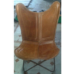 Designer Leather Butterfly Chair