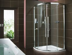 shower cubicles. Round Shower Cubicles, Cubicles - Modular Solutions, Jalandhar | ID: 14634129833