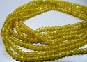 Lemon Color Cubic Zircon Beads