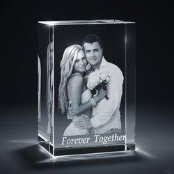 Modern Couple Laser Inner Engraving